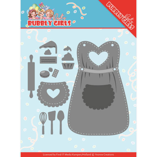 Bubbly Girls Party - Apron