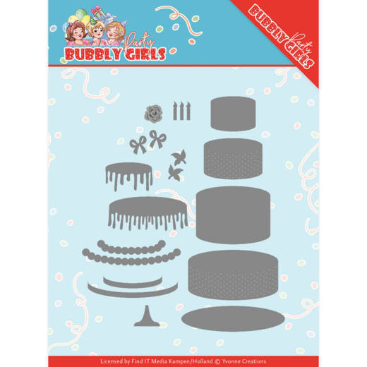 Bubbly Girls Party - Birthday cake