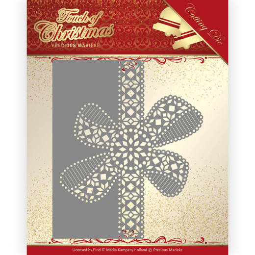 Touch of Christmas - Christmas Bow border