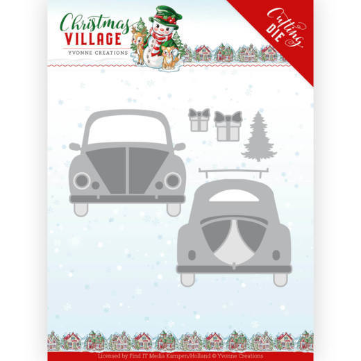 Dies - Yvonne Creations - Christmas Village - Christmas Car