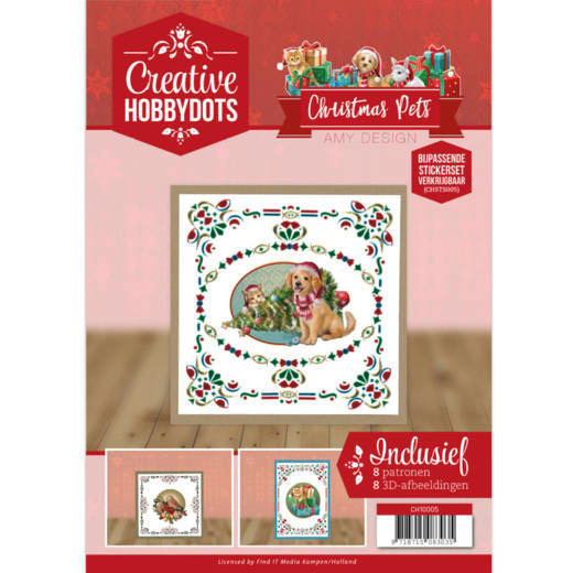 Creative Hobbydots 5 - Amy Design - Christmas Pets