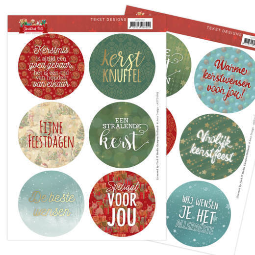 Tekst Designs - Amy Design - Christmas Pets (NL)