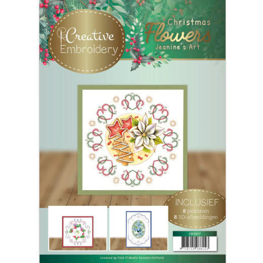 Creative Embroidery 17 - Jeanines Art Christmas Flowers