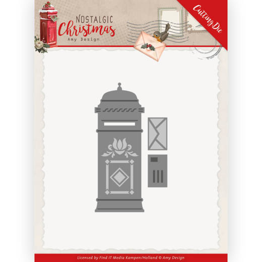 Dies - Amy Design - Nostalgic Christmas - Mail Box