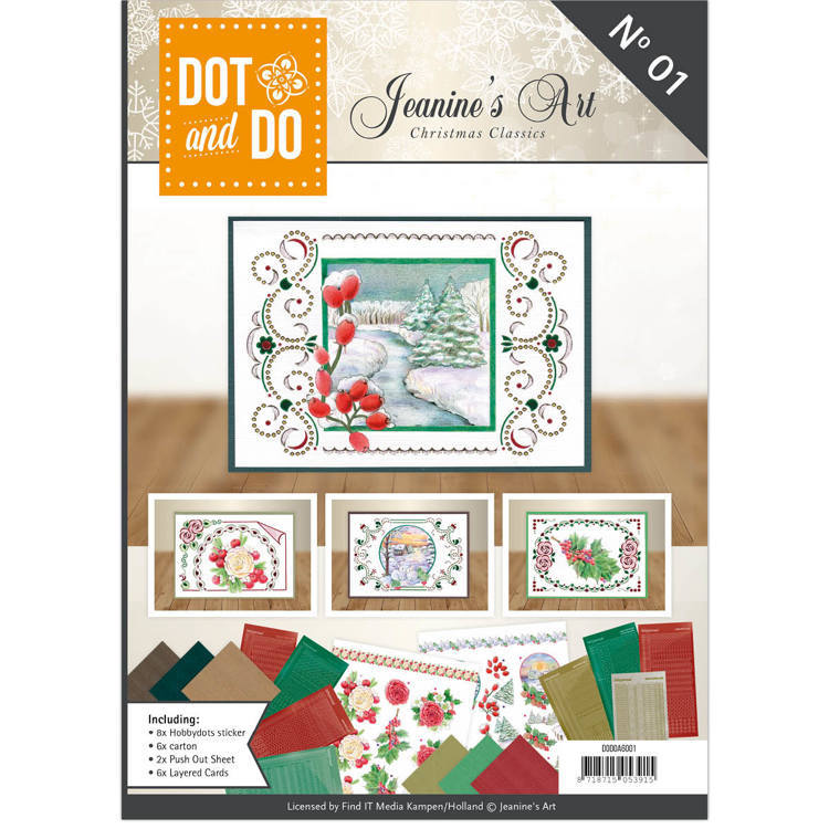Dot and Do Book - Jeanine's Art - Christmas Classics