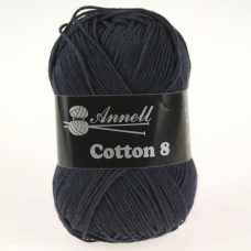 Annell Cotton 8 - 26 marineblauw