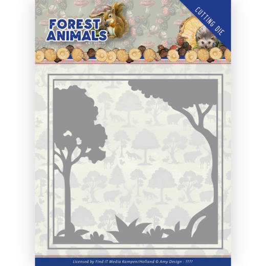 Dies - Amy Design Forest Animals - Forest Frame