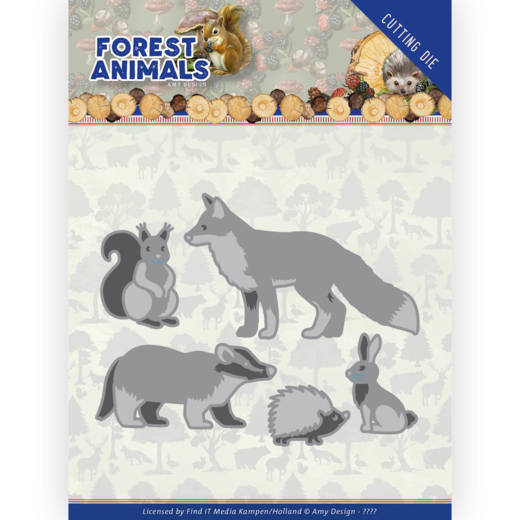 Dies - Amy Design Forest Animals - Forest Animals 2
