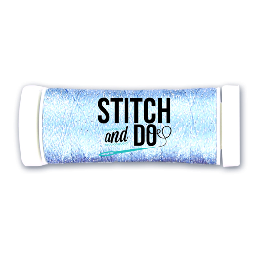 Stitch and Do Sparkles Embroidery Thread - Soft Blue