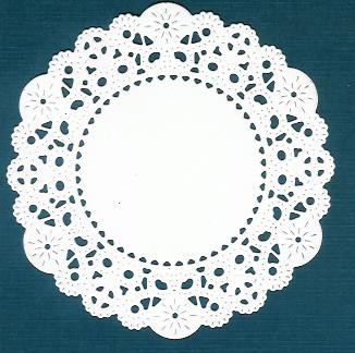 French Pastry Doily Cheery Lynn 01 - wit