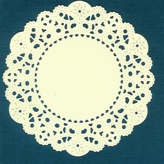 French Pastry Doily Cheery Lynn 02 - Creme