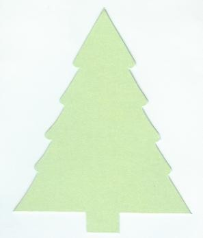Kerstboom mini 110 - Mintgroen metallic