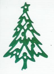 Tree 1 Creatables 23 - Kerstgroen