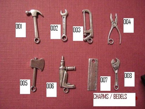 Charms / bedels  Boormachine