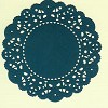 French Pastry Doily Cheery Lynn 30 - D.blauw