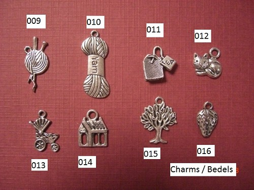 Charms / Bedels Kinderwagen